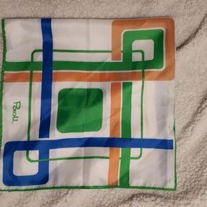 😍Rare Vintage Paoli scarf EUC made in Japan